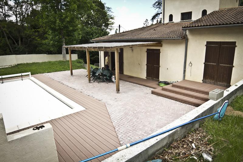 Création de terrasse à Toulouse