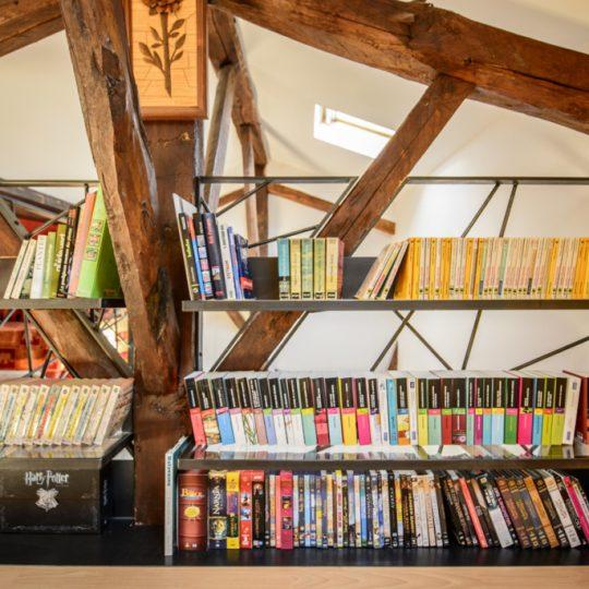 bibliotheque sur mesure en fer
