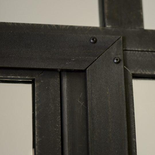 verriere interieur moderne en acier