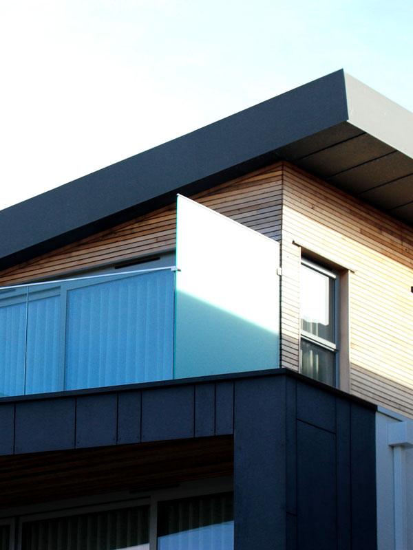 maison avec étage en bois